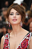 Actress Frederique Bel attends the 'Cafe Society' premiere and the Opening Night Gala during the 69th annual Cannes Film Festival at the Palais des...