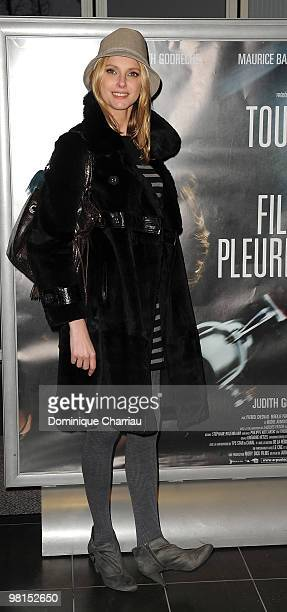 Actress Frederique Bel attends the Paris Premiere of 'Toutes le Filles Pleurent' at Mk2 Bibliotheque on March 30 2010 in Paris France