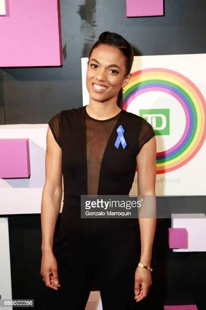 Actress Freema Agyeman attends the 2017 Village Voice Pride Awards at Capitale on June 21 2017 in New York City