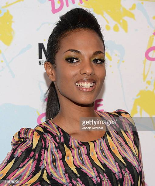 Actress Freema Agyeman attends 'The Carrie Diaries' Premiere during the 2012 New York Television Film Festival at SVA Theater on October 22 2012 in...