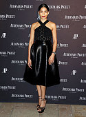 Actress Freida Pinto attends Audemars Piquet Celebrates Grand Opening of Rodeo Drive Boutique on December 9 2015 in Beverly Hills California