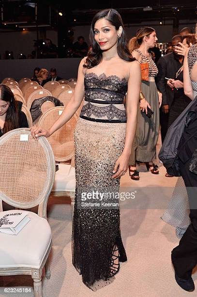 Actress Freida Pinto attends Glamour Women Of The Year 2016 at NeueHouse Hollywood on November 14 2016 in Los Angeles California
