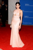 Actress Freida Pinto attends the 100th Annual White House Correspondents' Association Dinner at the Washington Hilton on May 3 2014 in Washington DC