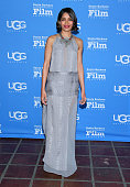 Actress Freida Pinto attends the 30th Santa Barbara International Film Festival Opening Night presentation of 'Desert Dancer' on January 27 2015 in...