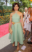 Actress Freida Pinto attends the 8th Annual Veuve Clicquot Polo Classic at Liberty State Park on May 30 2015 in Jersey City New Jersey