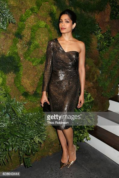 Actress Freida Pinto attends the John Hardy Artisan in Residence Launch at John Hardy Soho Flagship on December 8 2016 in New York City