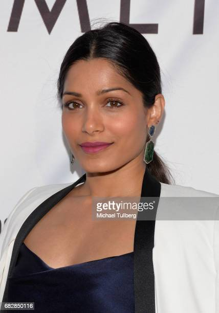 Actress Freida Pinto attends the Los Angeles LGBT Center's 'An Evening With Women' benefit at Hollywood Palladium on May 13 2017 in Los Angeles...