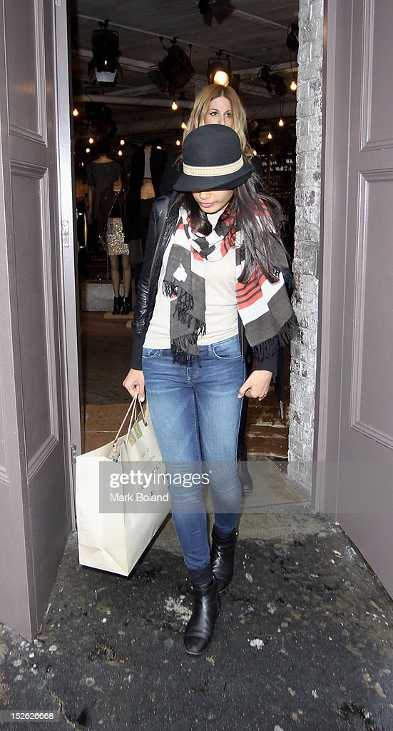 Actress Freida Pinto is seen leaving All Saints on September 23, 2012 in London, England.