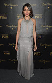 Actress Freida Pinto visits the Dom Perignon Lounge at The Santa Barbara International Film Festival to celebrate the opening night film 'Desert...