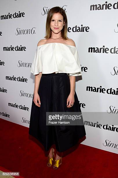 Actress Fuchsia Kate Sumner attends the 'Fresh Faces' party hosted by Marie Claire celebrating the May issue cover stars on April 11 2016 in Los...