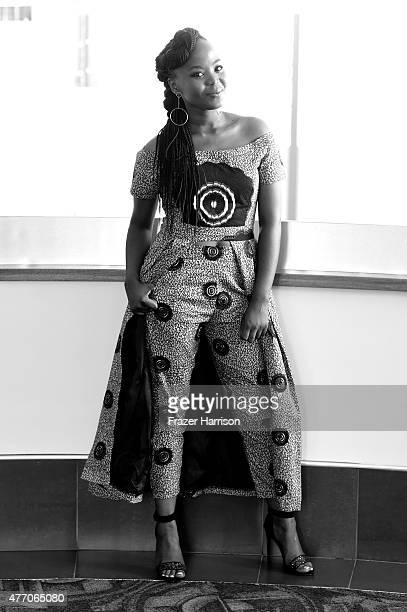 Actress Fulu Moguvhani attend the 'Ayanda and the Mechanic' screening during the 2015 Los Angeles Film Festival at the Conga Room on June 13 2015 in...