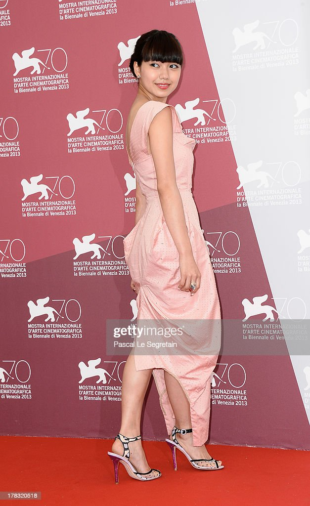 Actress Fumi Nikaido attends the 'Why Don't You Play In Hell?' Photocall during the 70th Venice International Film Festivalon August 29, 2013 in Venice, Italy.