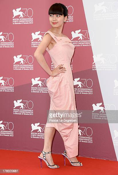 Actress Fumi Nikaido attends the 'Why Don't You Play In Hell' Photocall during the 70th Venice International Film Festivalon August 29 2013 in Venice...