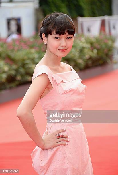 Actress Fumi Nikaido attends 'Why Don't You Play In Hell' Premiere during the 70th Venice International Film Festival at Sala Grande on August 29...