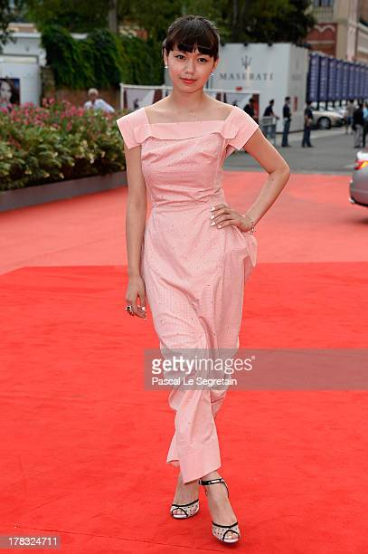 Actress Fumi Nikaido attends Why Don't You Play In Hell Premiere during the 70th Venice International Film Festival on August 29 2013 in Venice Italy