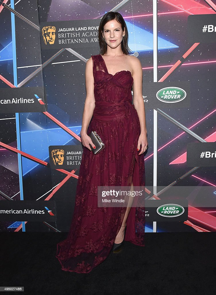 Actress Fuschia Sumner attends the 2015 Jaguar Land Rover British Academy Britannia Awards presented by American Airlines at The Beverly Hilton Hotel on October 30, 2015 in Beverly Hills, California.