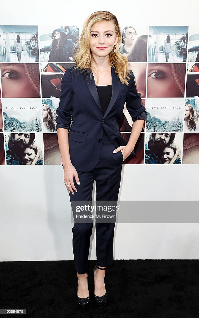 Actress G. Hannelius attends the Premiere of New Line Cinema's and Metro-Goldwyn-Mayer Pictures' 'If I Stay' at the TCL Chinese Theatre on August 20, 2014 in Hollywood, California.
