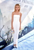 Actress G Hannelius attends the World Premiere of Disney's 'Maleficent' at the El Capitan Theatre on May 28 2014 in Hollywood California
