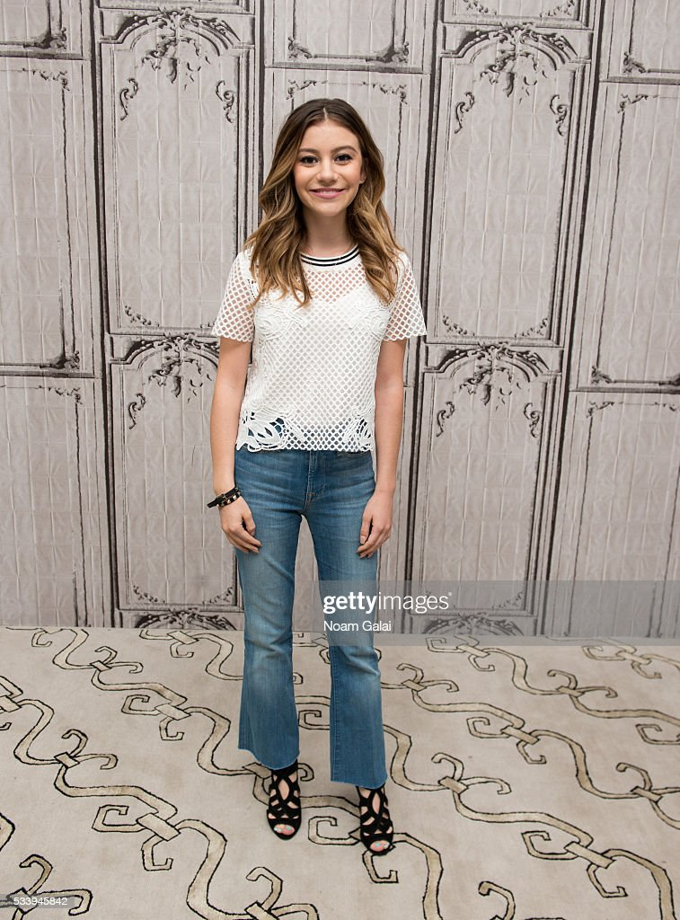 Actress G Hannelius visits AOL Build to discuss her role in 'Roots' at AOL Studios In New York on May 24 2016 in New York City