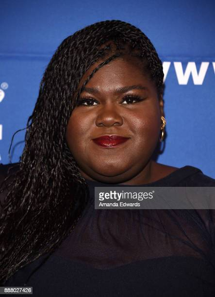 Actress Gabourey Sidibe arrives at the Children's Defense FundCalifornia's 27th Annual Beat The Odds Awards at the Beverly Wilshire Four Seasons...