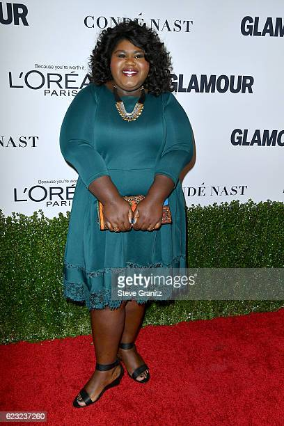 Actress Gabourey Sidibe attends Glamour Women Of The Year 2016 at NeueHouse Hollywood on November 14 2016 in Los Angeles California
