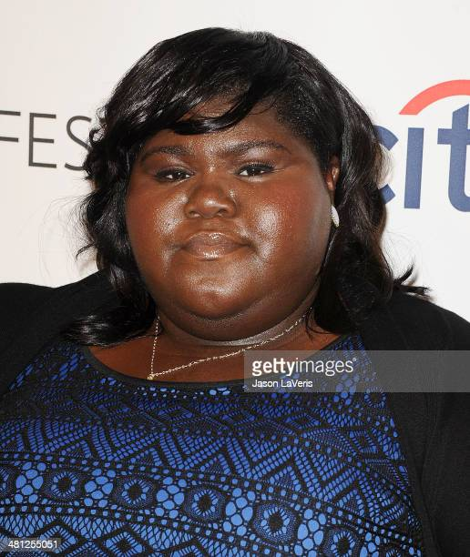 Actress Gabourey Sidibe attends the 'American Horror Story Coven' event at the 2014 PaleyFest at Dolby Theatre on March 28 2014 in Hollywood...