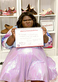 Actress Gabourey Sidibe attends the Backstage Creations retreat at Teen Choice 2015 at the Galen Center on August 16 2015 in Los Angeles California