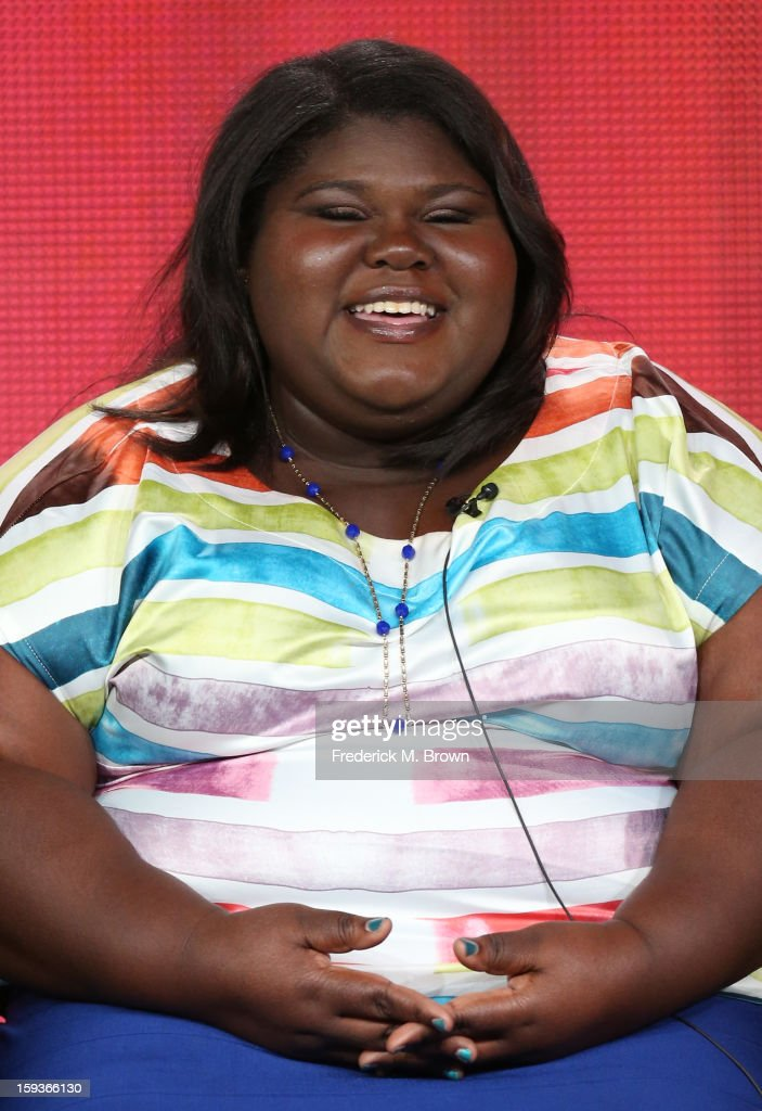 Actress Gabourey Sidibe of 'THE