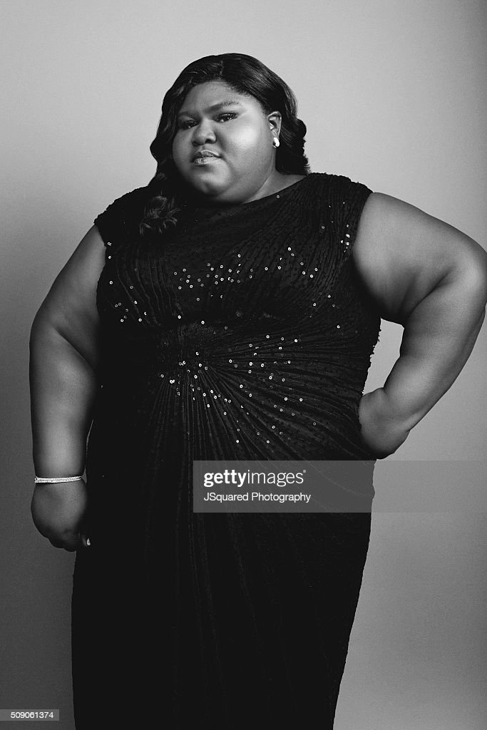 Actress <a gi-track='captionPersonalityLinkClicked' href=/galleries/search?phrase=Gabourey+Sidibe&family=editorial&specificpeople=5667783 ng-click='$event.stopPropagation()'>Gabourey Sidibe</a> poses for a portrait during the 47th NAACP Image Awards presented by TV One at Pasadena Civic Auditorium on February 5, 2016 in Pasadena, California.