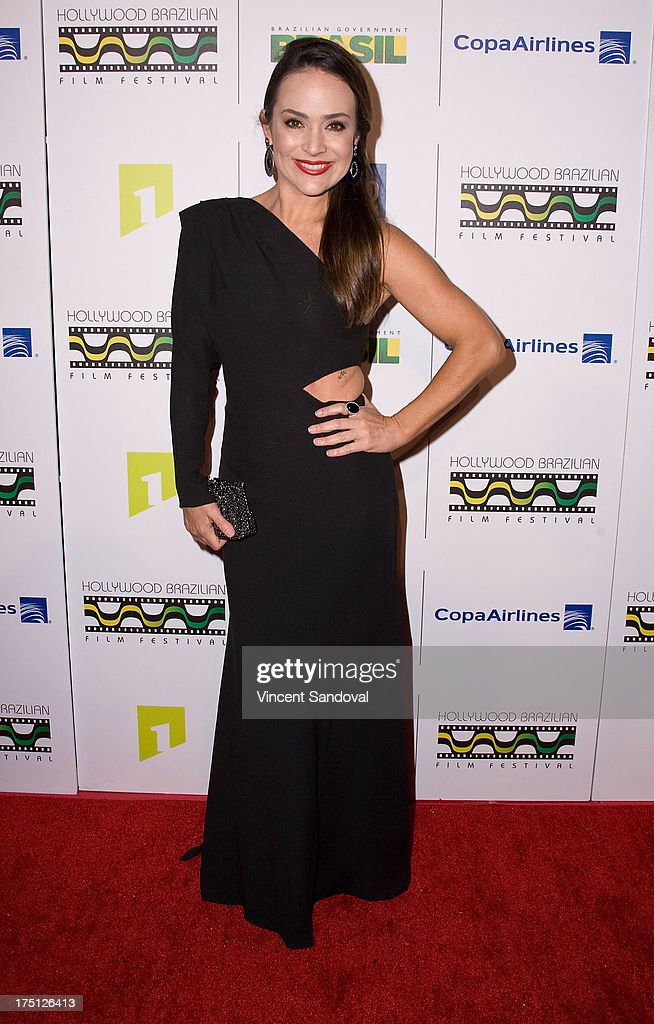 Actress Gabriela Duarte attends the 5th annual Hollywood Brazilian Film Festival at the Egyptian Theatre on July 31, 2013 in Hollywood, California.