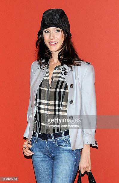 Actress Gabriella Pession attends 'Oggi Sposi' Photocall at Cinema Apollo on October 23 2009 in Milan Italy