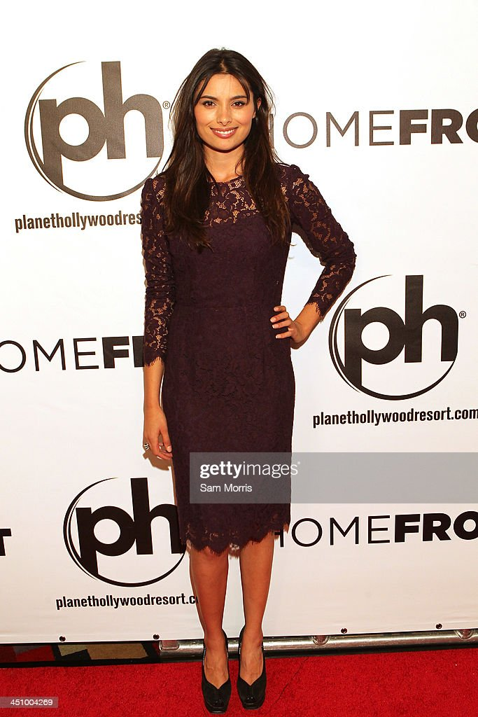 Actress <a gi-track='captionPersonalityLinkClicked' href=/galleries/search?phrase=Gabriella+Wright&family=editorial&specificpeople=2544708 ng-click='$event.stopPropagation()'>Gabriella Wright</a> arrives at the Las Vegas premiere of Open Road Films''Homefront' at Planet Hollywood Resort & Casino on November 20, 2013 in Las Vegas, Nevada. The movie opens nationwide in the United States on November 27.