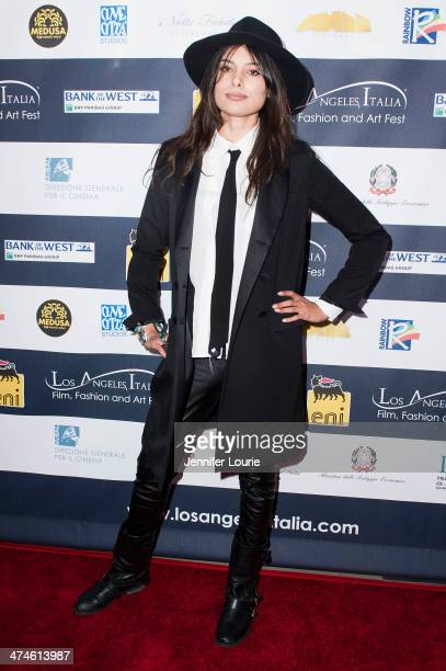 Actress Gabriella Wright attends the 9th annual Los Angeles Italia Film Fashion and Art Fest opening night ceremony held at TLC Chinese 6 Theatres on...