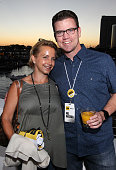 Actress Gabrielle Carteris and COO of IMDb Rob Grady attend the IMDb Yacht Party Presented By TCL at on July 22 2016 in San Diego California