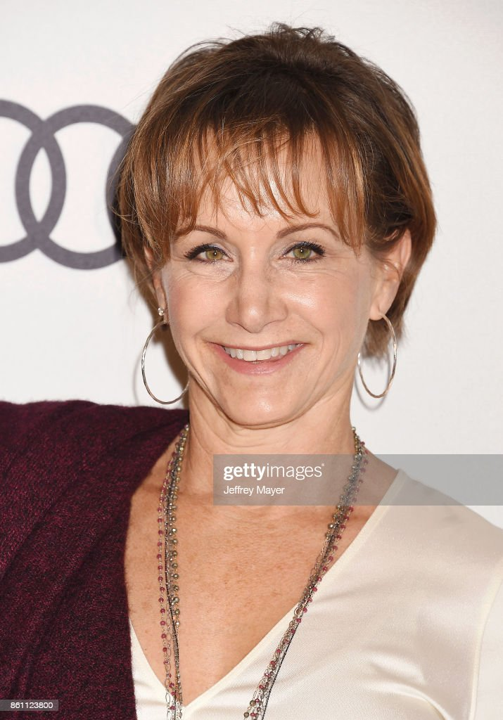Actress Gabrielle Carteris arrives at the Variety's Power Of Women: Los Angeles at the Beverly Wilshire Four Seasons Hotel on October 13, 2017 in Beverly Hills, California.