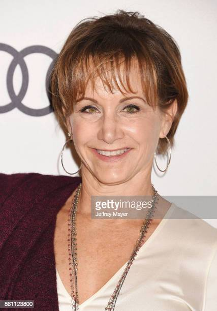 Actress Gabrielle Carteris arrives at the Variety's Power Of Women Los Angeles at the Beverly Wilshire Four Seasons Hotel on October 13 2017 in...