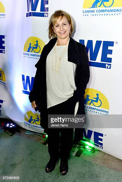 Actress Gabrielle Carteris attends an event hosted by WE tv and Ian Ziering to raise awareness for Canine Companions for Independence at Boulevard 3...