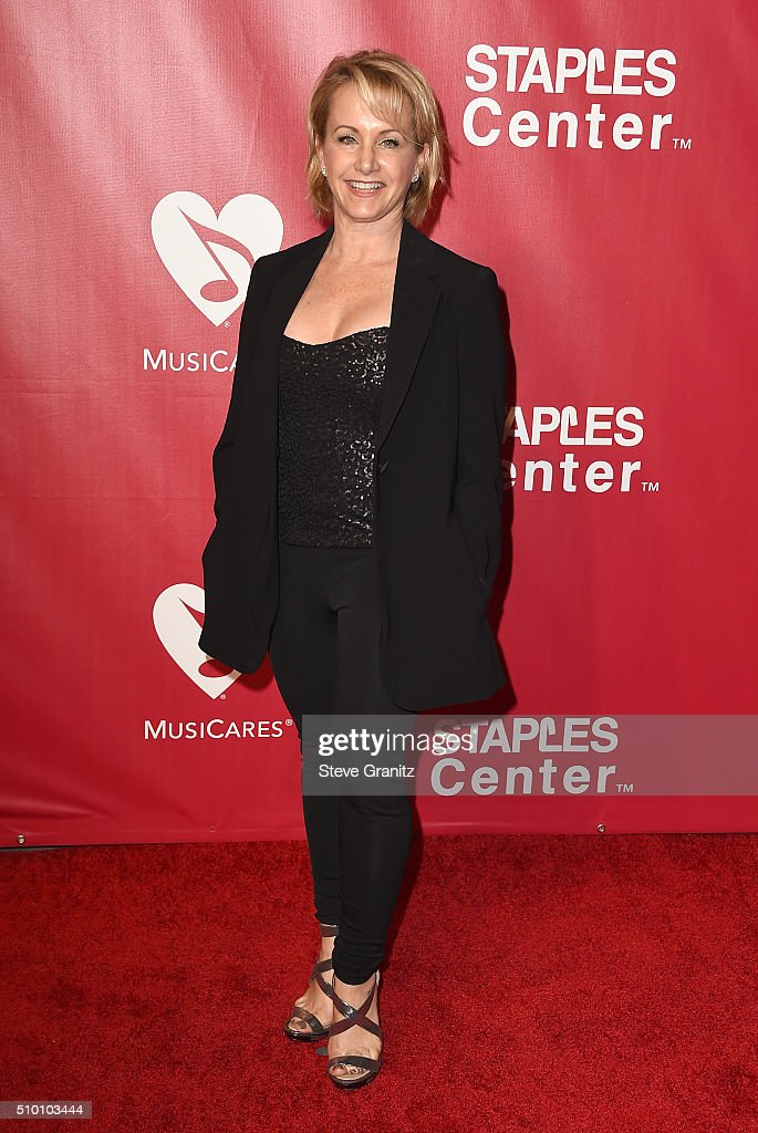Actress Gabrielle Carteris attends the 2016 MusiCares Person of the Year honoring Lionel Richie at the Los Angeles Convention Center on February 13, 2016 in Los Angeles, California.