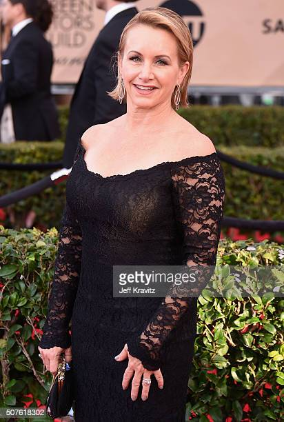 Actress Gabrielle Carteris attends the 22nd Annual Screen Actors Guild Awards at The Shrine Auditorium on January 30 2016 in Los Angeles California