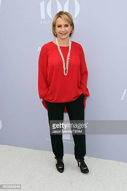 Actress Gabrielle Carteris attends the 24th annual Women in Entertainment Breakfast hosted by The Hollywood Reporter at Milk Studios on December 9...