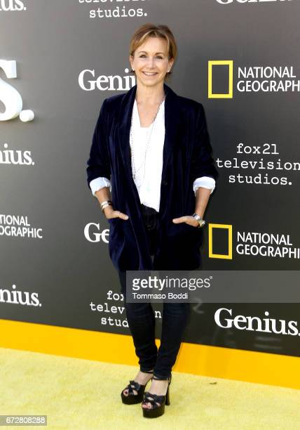 Actress Gabrielle Carteris attends the Los Angeles Premiere Screening of National Geographics 'Genius' the Fox Theater on April 24 2017 in Los...