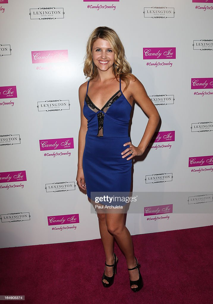 Actress Gabrielle Christian attends the Fire & Ice Gala Benefiting Fresh2o at the Lexington Social House on March 28, 2013 in Hollywood, California.