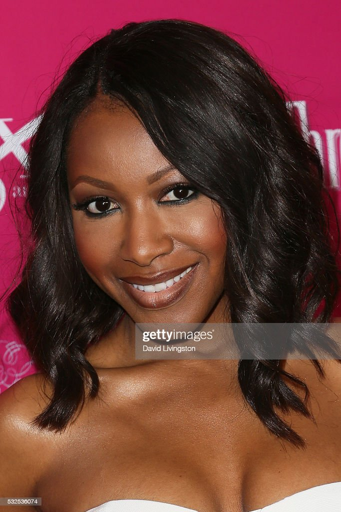 Actress Gabrielle Dennis arrives at the OK! Magazine's So Sexy LA at the Skybar at Mondrian on May 18, 2016 in West Hollywood, California.