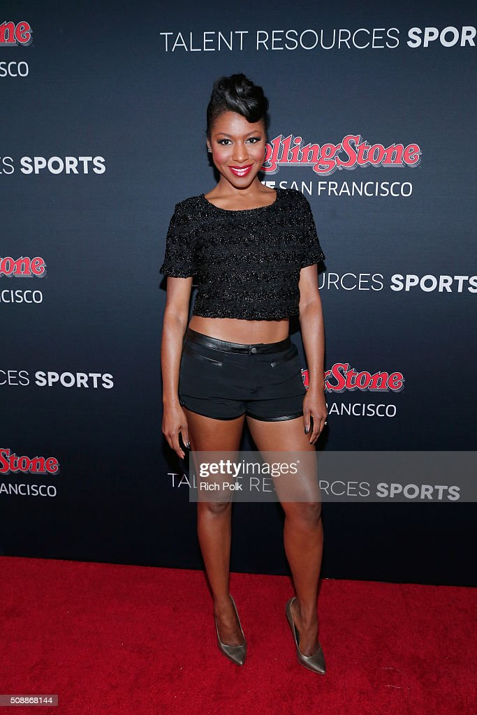 Actress Gabrielle Dennis attends Rolling Stone Live SF with Talent Resources on February 7, 2016 in San Francisco, California.