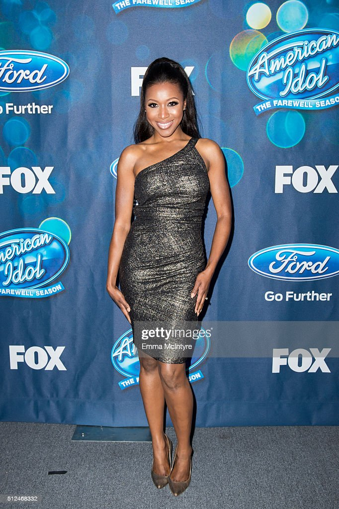Actress Gabrielle Dennis attends the 'American Idol XV' Finalists party at The London Hotel on February 25, 2016 in West Hollywood, California.