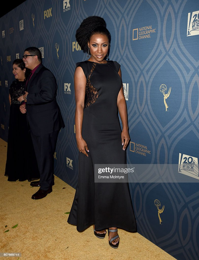 Actress Gabrielle Dennis attends the FOX Broadcasting Company, FX, National Geographic And Twentieth Century Fox Television's 68th Primetime Emmy Awards after Party at Vibiana on September 18, 2016 in Los Angeles, California.