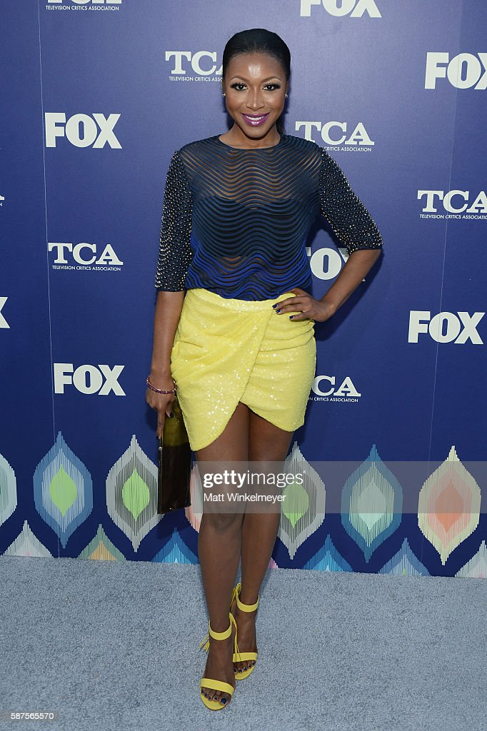 Actress Gabrielle Dennis attends the FOX Summer TCA Press Tour on August 8, 2016 in Los Angeles, California.