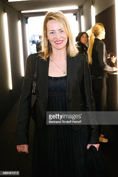 Actress Gabrielle Lazure attend the Cocktail for the discovery of new fragrance 'Black Opium' by Yves Saint Laurent on May 6 2014 in Paris France