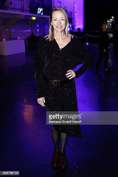 Actress Gabrielle Lazure attends Maison Jean Paul Gaultier Hosts 'Le Projet ICCARE Association' Against AIDS at 325 Rue Saint Martin on December 1...