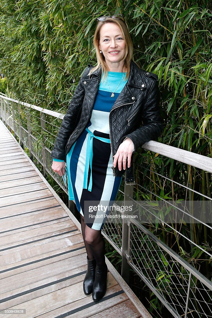 Actress <a gi-track='captionPersonalityLinkClicked' href=/galleries/search?phrase=Gabrielle+Lazure&family=editorial&specificpeople=790679 ng-click='$event.stopPropagation()'>Gabrielle Lazure</a> attends the 2016 French Tennis Open - Day Three at Roland Garros on May 24, 2016 in Paris, France.